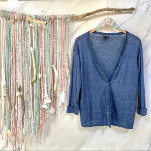 Boho LINEN DENIM like colour💙breezy cardigan